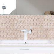 Mosaik Hexagon Carrara Beige 30,8X32,8