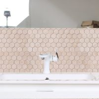 Mosaik Hexagon Carrara Beige 30,8X32,8