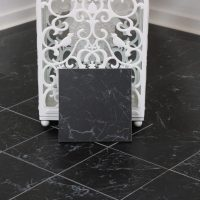 Klinker Carrara Black Matt 15X15
