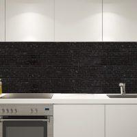 Stavmosaik Carrara Black 30X40