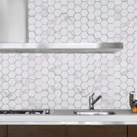 Mosaik Hexagon Statuario 30,8X32,8