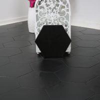 Klinker Hexagon Borno Black 20X23