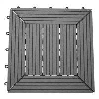 Balkongplatta Instaclick Grå 29,5X29,5