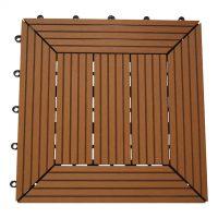 Balkongplatta Instaclick Teak 29,5X29,5