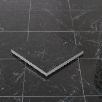 Klinker Carrara Black Blank 15X15