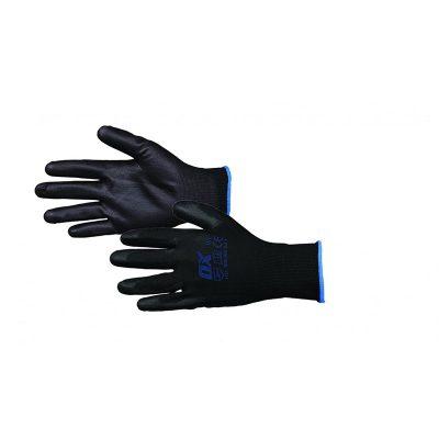 pu-doppade-handskar-strl-9-l