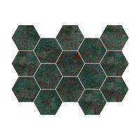 Mosaik Metal Seagreen 30X30