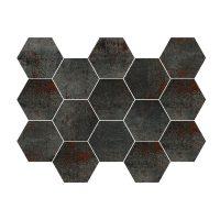 Mosaik Metal Titanium 30X30