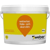 Webertec Folie- och Skarvlim 10 kg